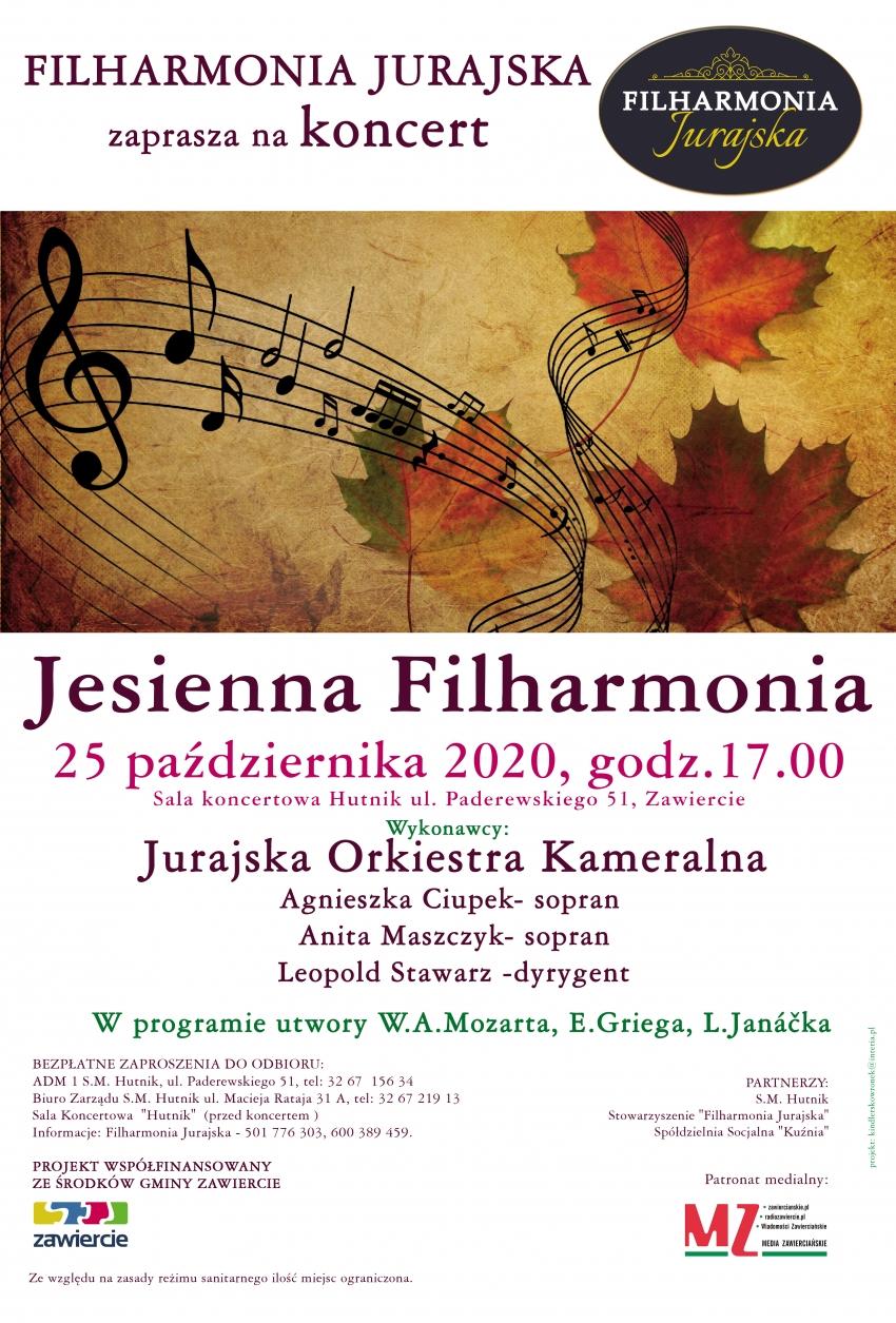 Filharmonia Jurajska zaprasza na koncert